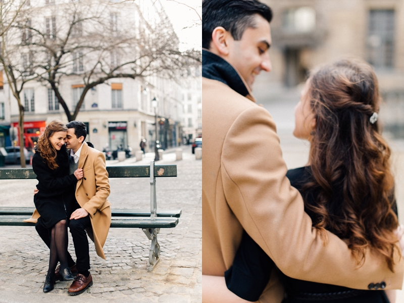 Engagement Session in Paris | by Andreea Alexandroni